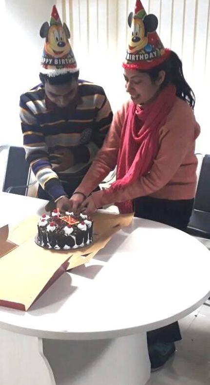 Anjali and Pankaj birthday celebration