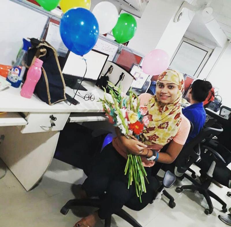 Shikha's birthday