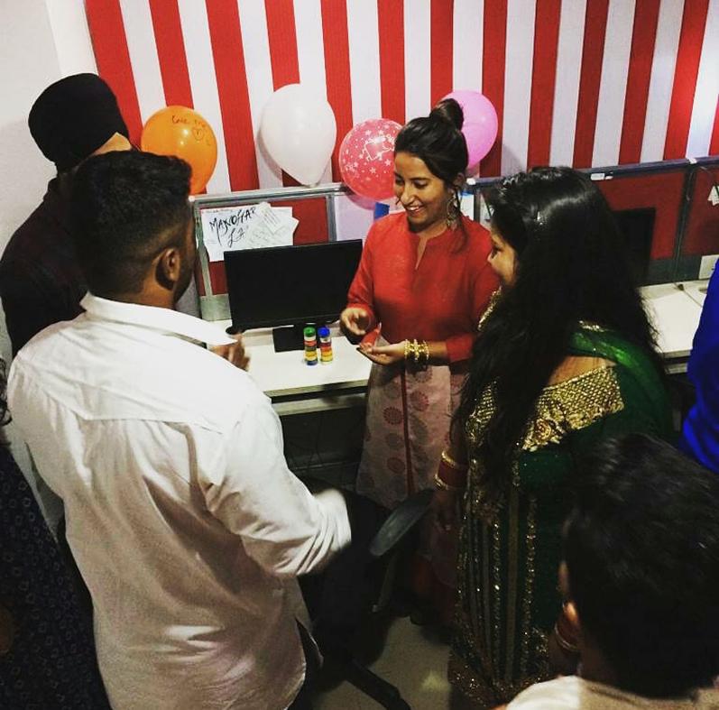 Namarta birthday celebration
