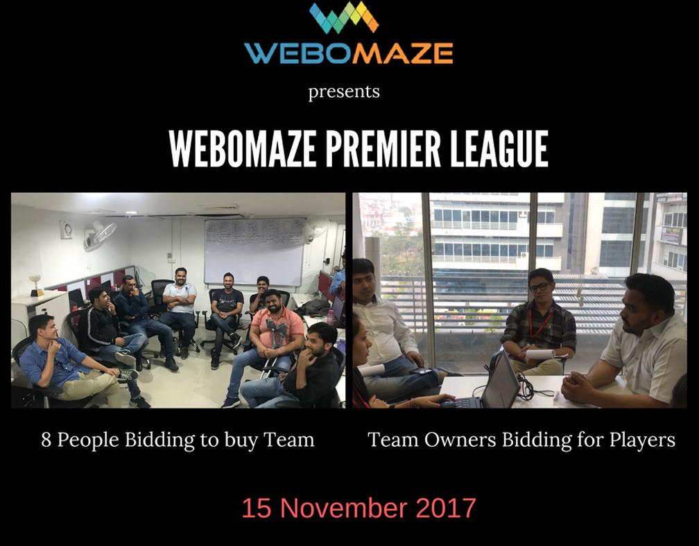 Webomaze Premier League 2017