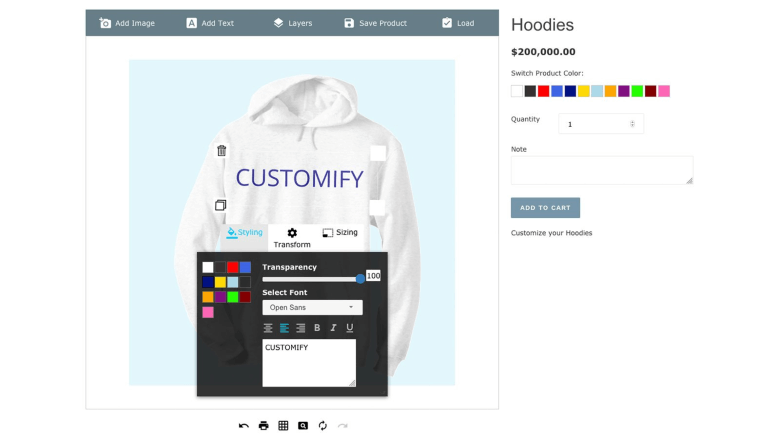 Customify – Product Customizer
