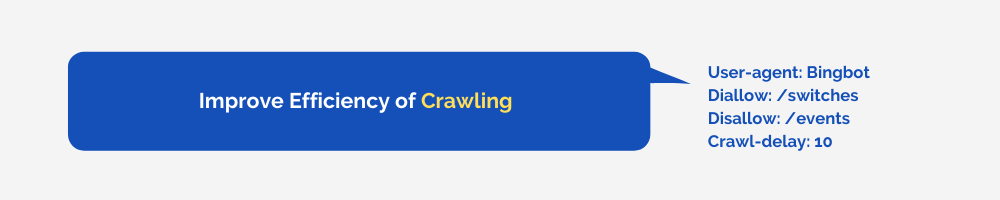 Improve Efficiency of Crawling