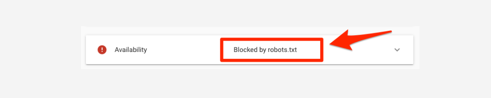 Message Displayed by Robots.txt Test Tool