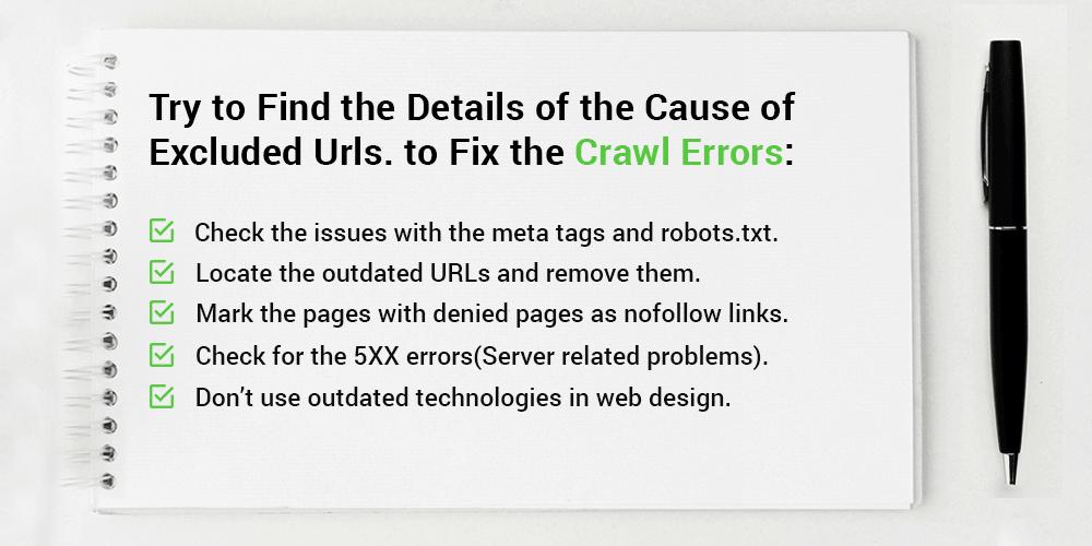Fix the Crawl Errors